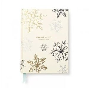 kate spade gift list log book new without tags
